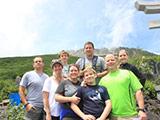 Hiking at Mt. Ontake