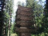 Hagurosan 5 Stories Pagoda