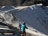 Trekking at Mt. Hinata